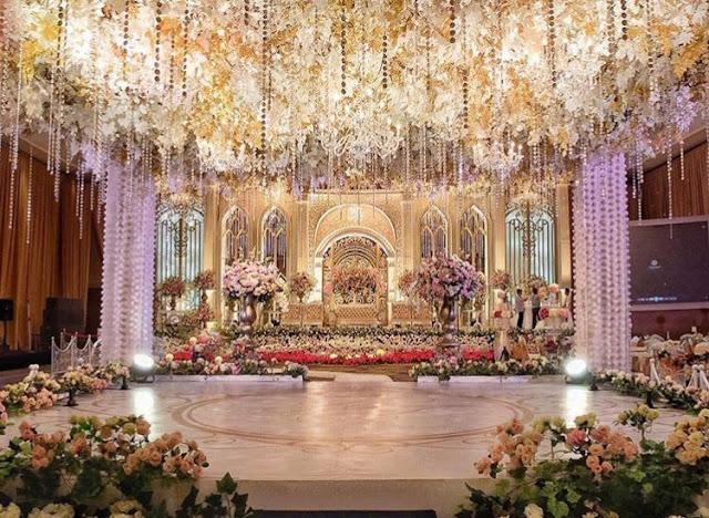 contoh dekorasi pernikahan sederhana banget