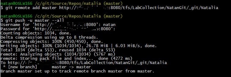 iladan: TFS to Git migration: step by step