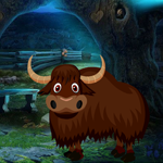 Play Games4King Yak Escape
