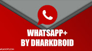 Download WhatsApp+ v1.49 by DharkDroid Latest Version