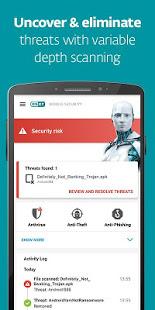 تحميل تطبيق الحماية ESET Mobile Security & Antivirus
