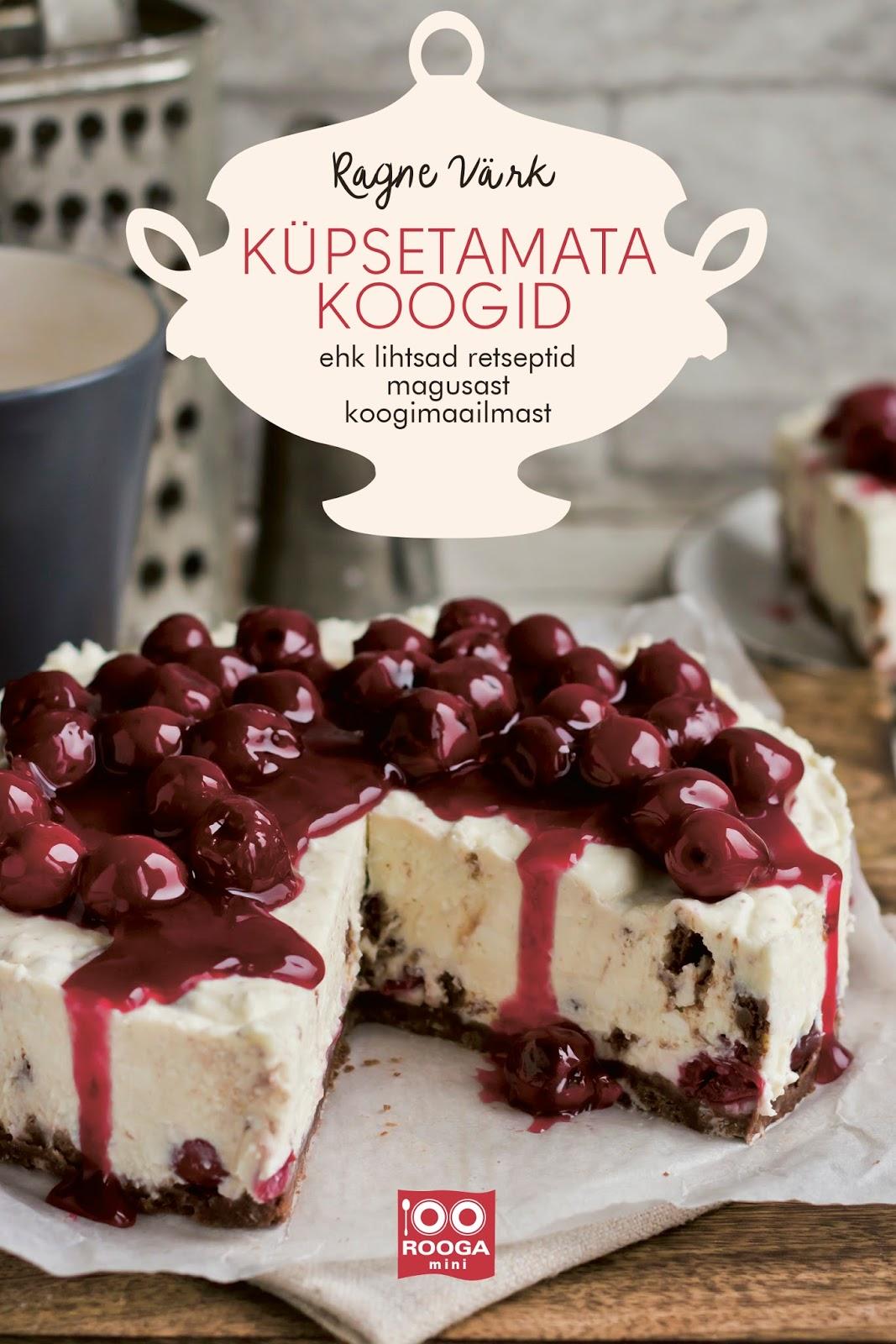 UUS! Küpsetamata koogid