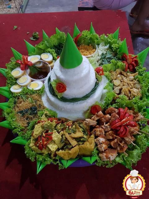 nasi tumpeng diva catering beji malang