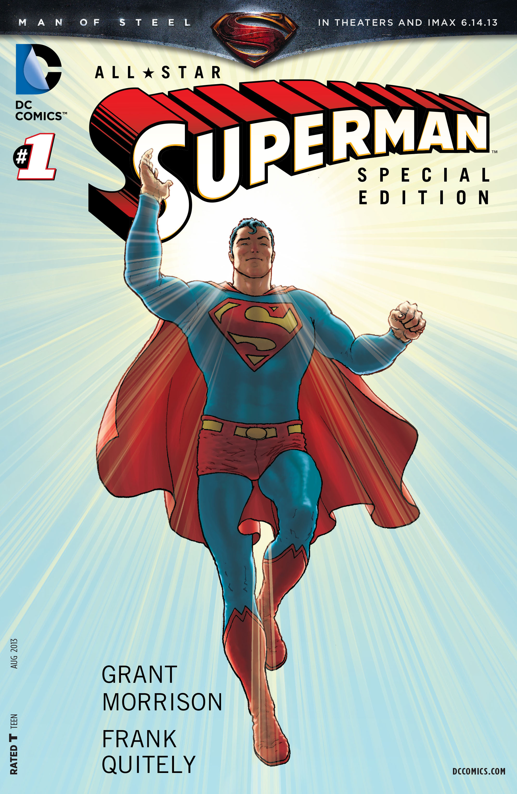 All Star Superman (2006) issue 1 - Page 1