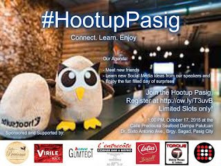 Connect. Learn. Enjoy At #HootupPasig