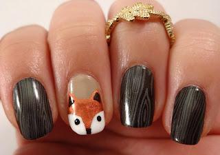 Fox Face Nail