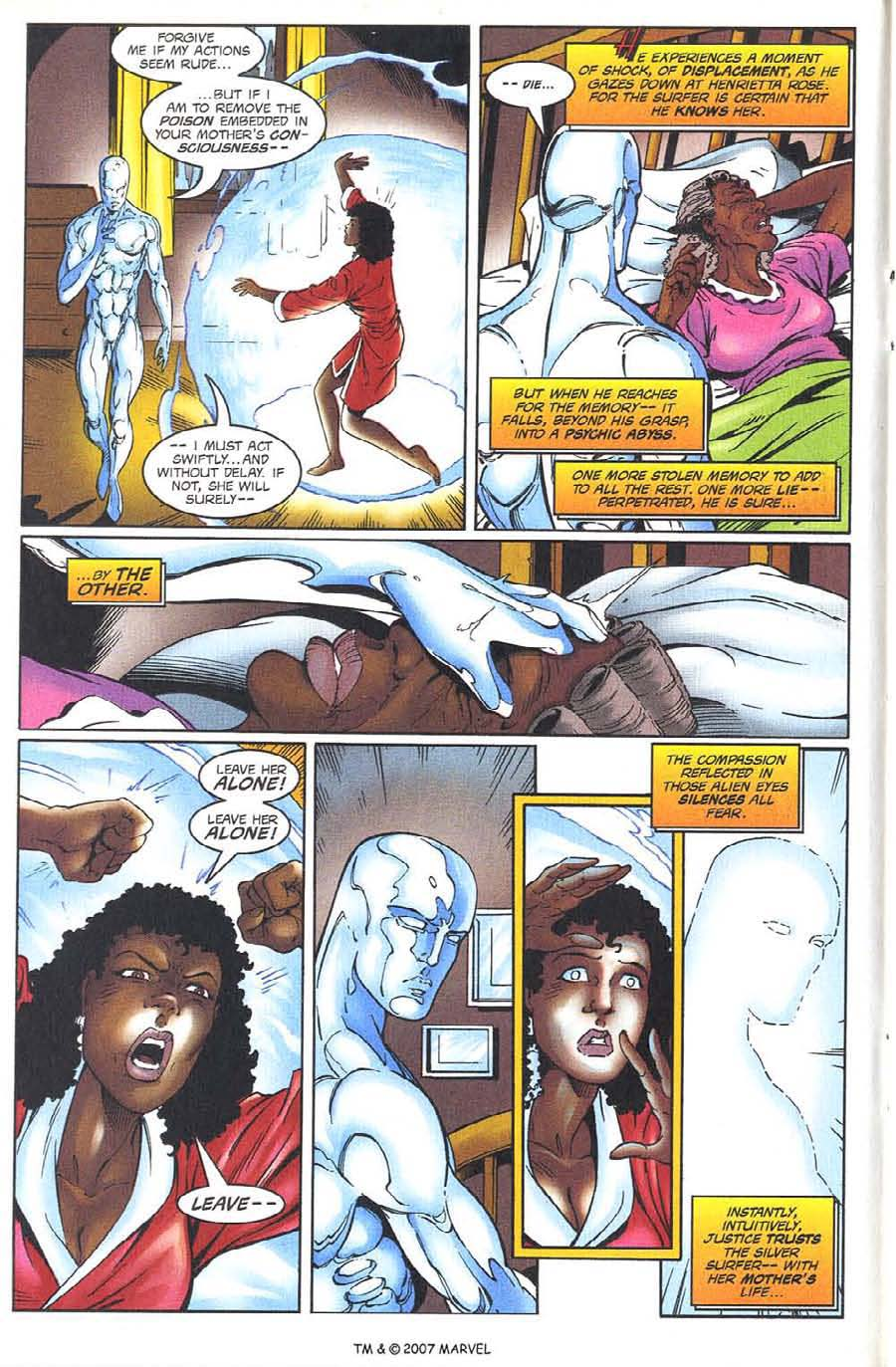 Read online Silver Surfer (1987) comic -  Issue #134 - 14