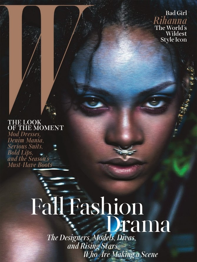 Rihanna Covers W Magazine's September 2014 Issue | Ses Rêveries