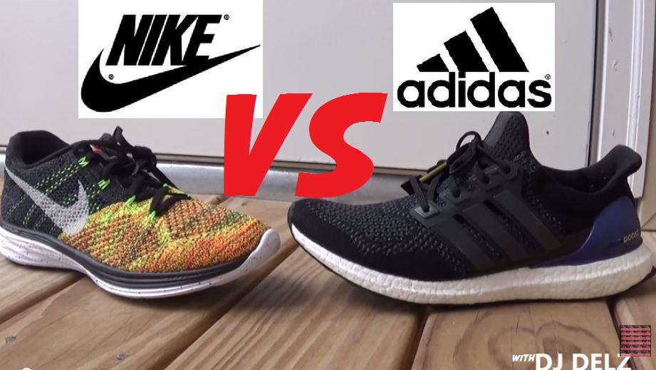 adidas ultra boost vs nike air max