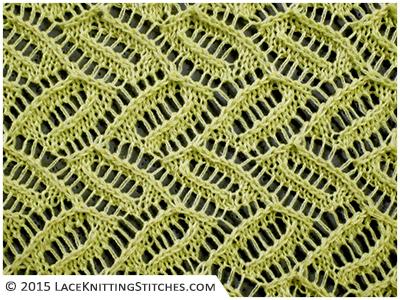 Lace Knititng chart # 1. Free
