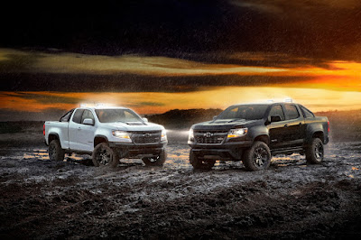 Chevy Colorado ZR2 Midnight and Dusk Editions Announced