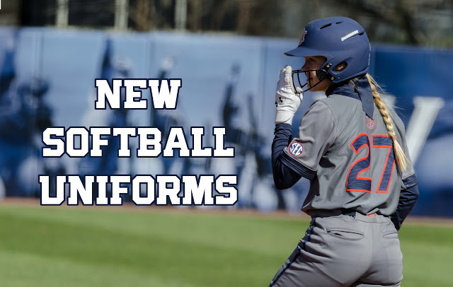Auburn Softball uniforms 2016