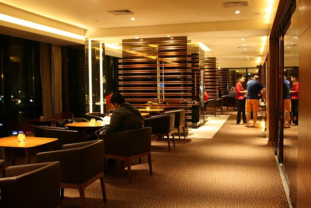 The Hyatt City of Dreams Manila Club Lounge