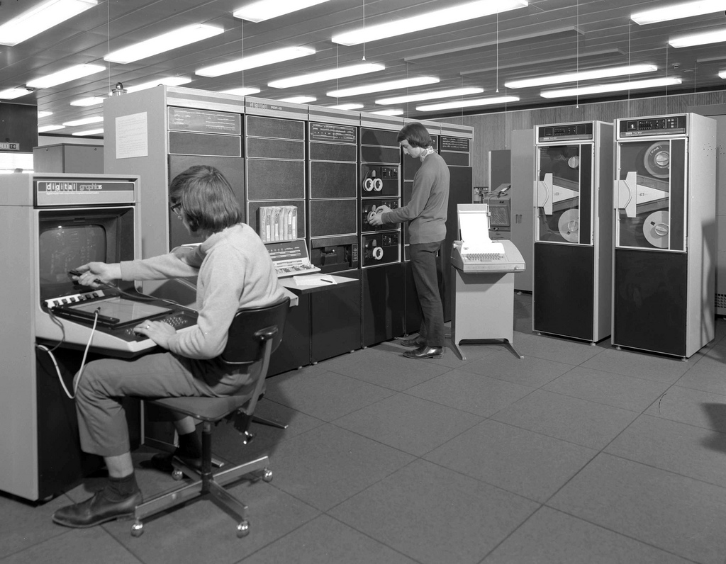 modern office of the 70s amp 80s vintage everyday