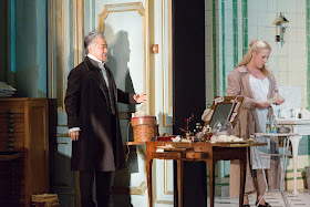 Kwangchoul Youn, Diana Damrau - Donizetti Lucia di Lammermoor - Royal Opera House - photo ROH/Stephen Cummiskey