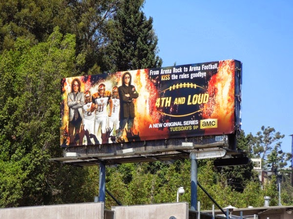 4th and Loud series premiere billboard