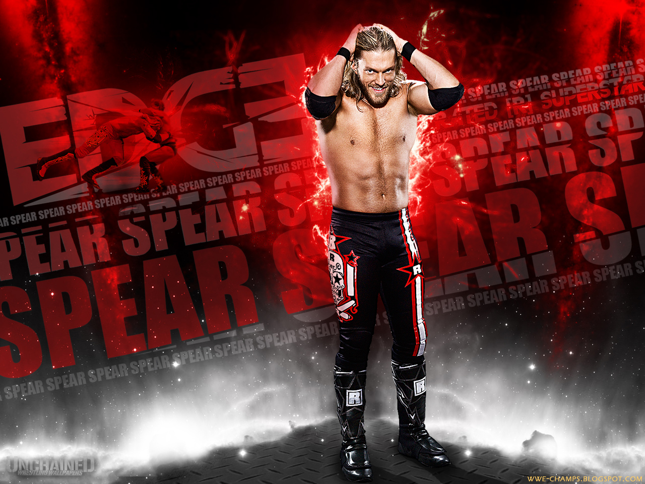 WWE CHAMPS: THE RATED R SUPERSTAR EDGE