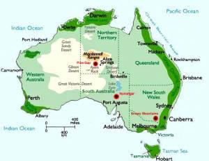 Pine Gate 靠近旅游區 Alice Springs.