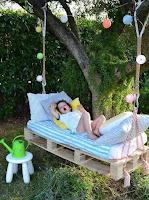 Ideas para niños hechos con pallets de madera