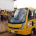 Comunidade da Serra Grande comemora a chegada de um novo Ônibus Escolar