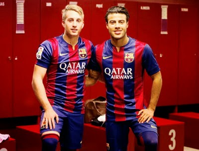 Todo sobre camisetas de fútbol 2015  La camiseta del Barcelona ... 73b72b9736e32
