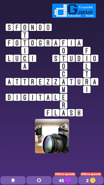 Soluzioni One Clue Crossword livello 8 schemi 1 (Cruciverba illustrato)  | Parole e foto