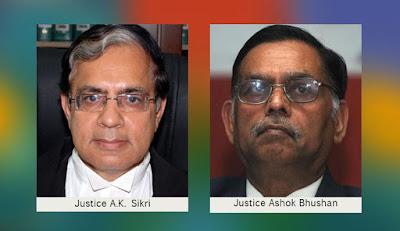 Justice AK Sirki - Ashok Bhushan