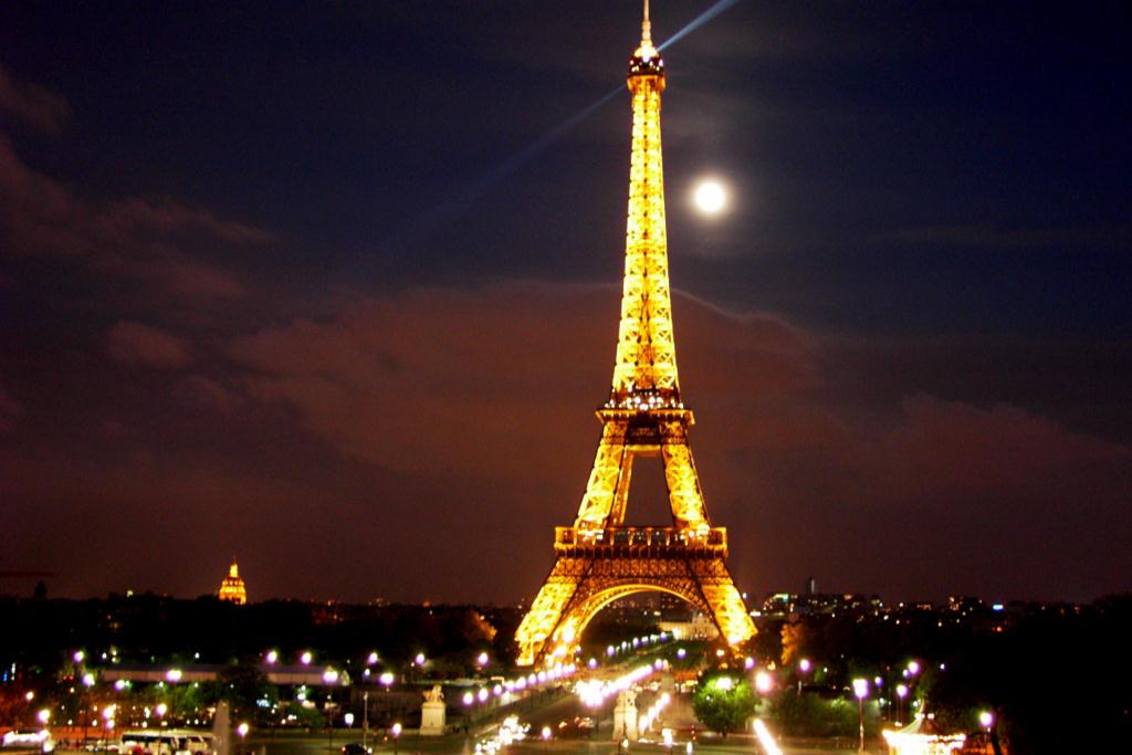 Top Tourist Attraction In Paris Eiffel Tower