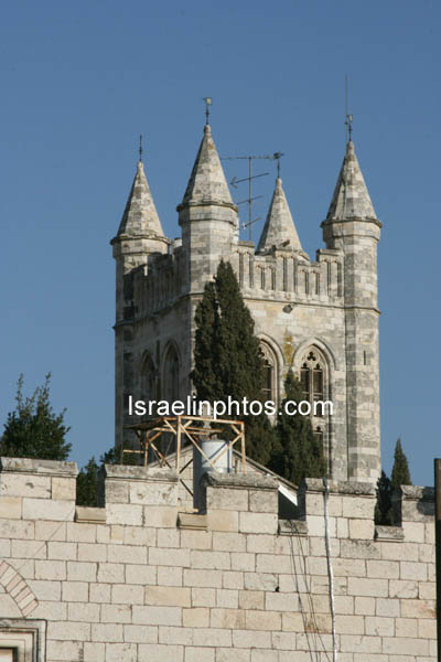 Kerken in Jeruzalem - St. George-kerk (De oude stad van Jeruzalem) Israel, Reizen, Foto