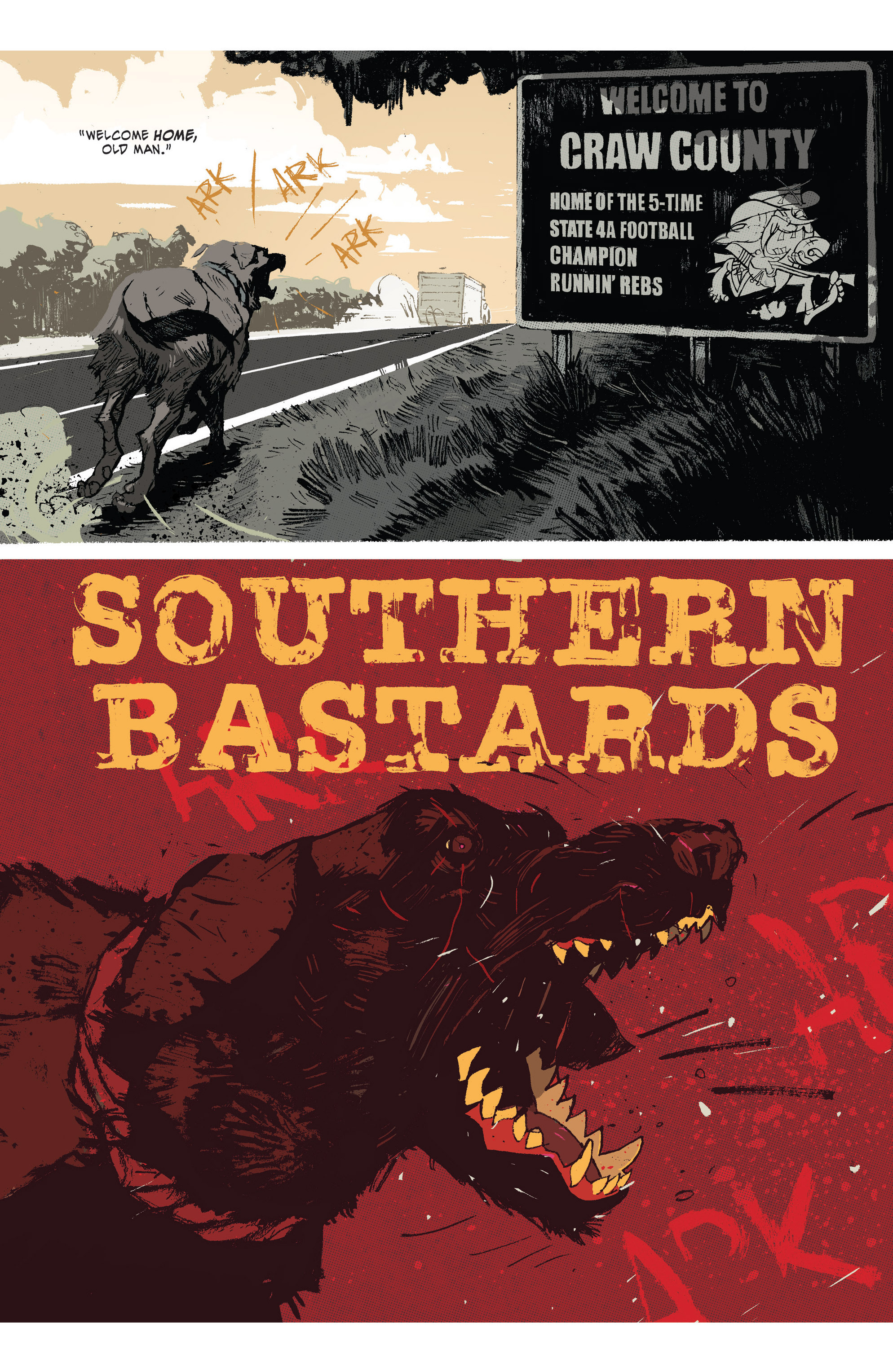 Read online Southern Bastards comic -  Issue #1 - 4