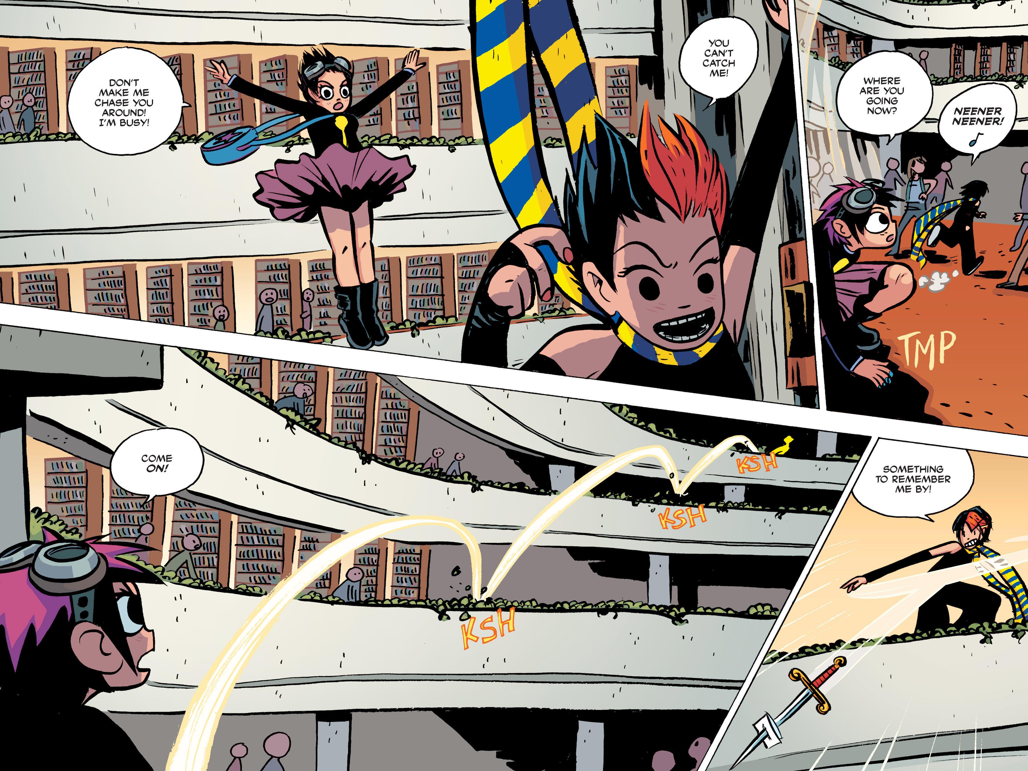 Read online Scott Pilgrim comic -  Issue #2 - 146