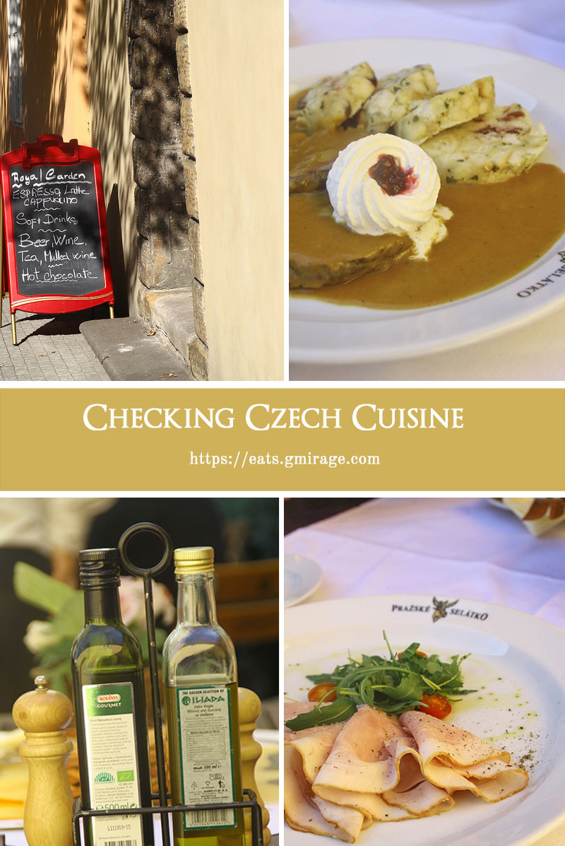Checking Czech Cuisine