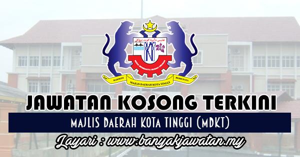 Jawatan Kosong Terkini 2017 di Majlis Daerah Kota Tinggi (MDKT)