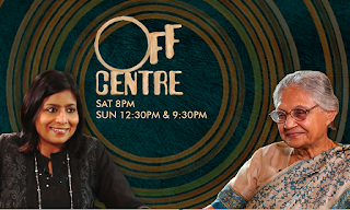 Catch ex Delhi Chief Minister Sheila Dikshit on this week's 'Off Centre'