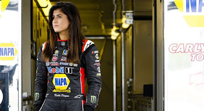 Hailie Deegan is finding her way in her first full season running a stock car, in the NASCAR K&N Pro Series. (NGP)