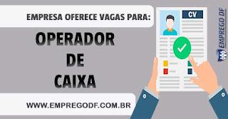 Emprego para  Caixa (R$ 1.000,00)  - 13.07.18