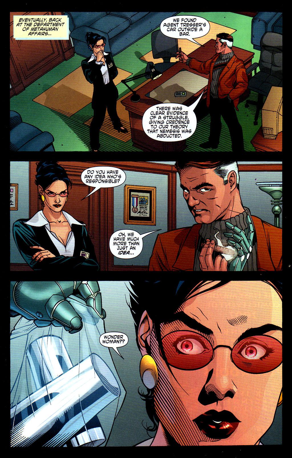 Read online Wonder Woman (2006) comic -  Issue #6 - 19