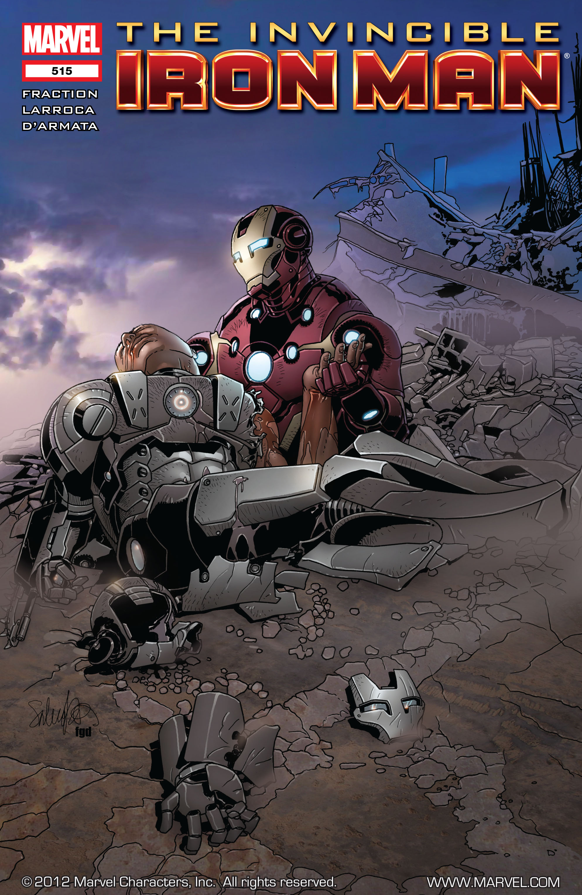 Invincible Iron Man (2008) 515 Page 1
