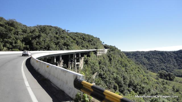 Ponte na BR-282 - Rancho Queimado / SC