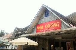 Kuliner Nasi kalong bandung dengan tempat outdor yang nyaman.