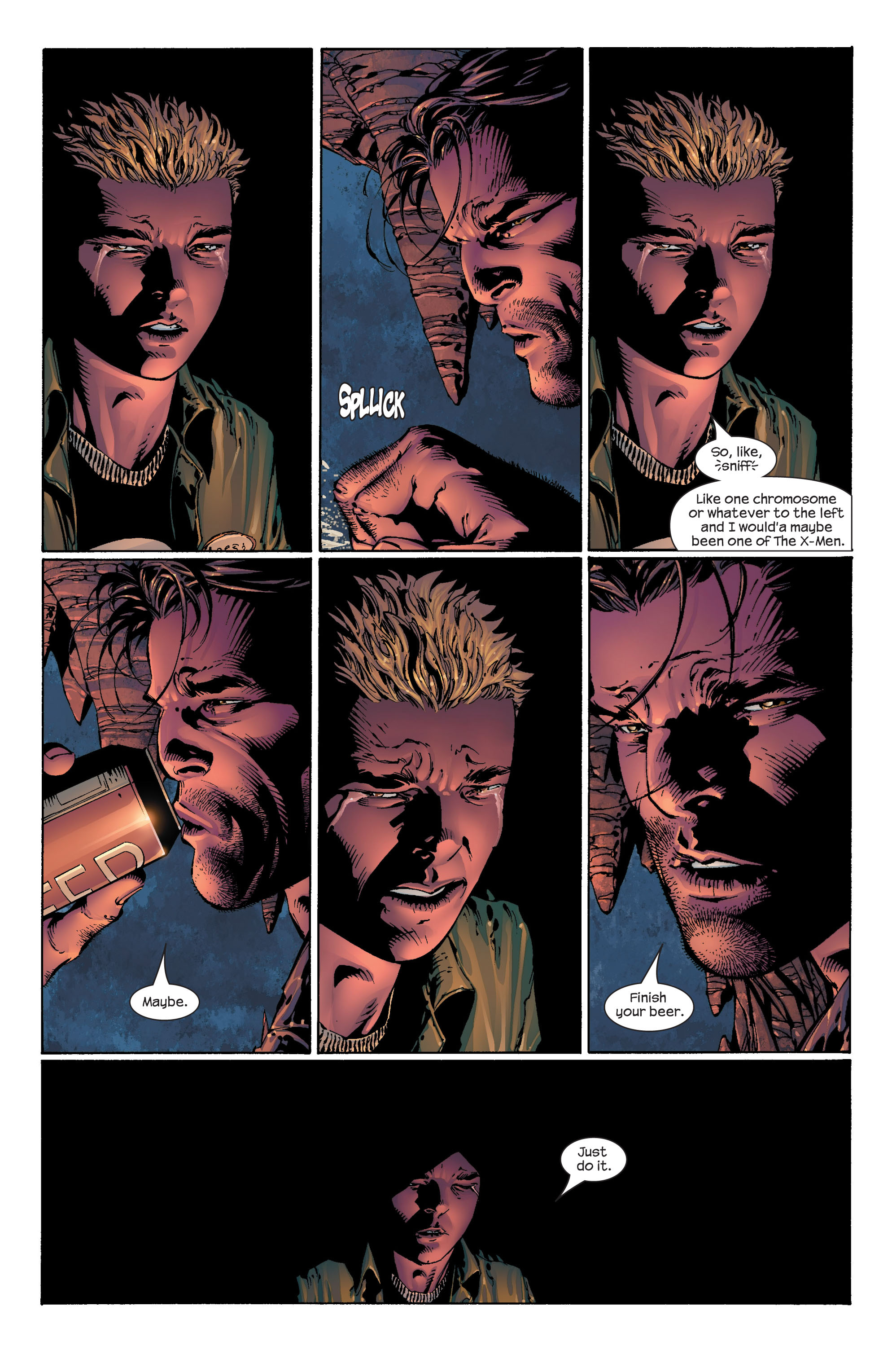 Read online Ultimate X-Men comic -  Issue #41 - 20