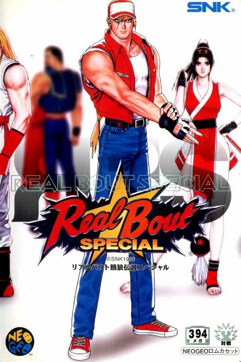 Real Bout Fatal Fury Special+arcade+game+portable+fighter+art+flyer