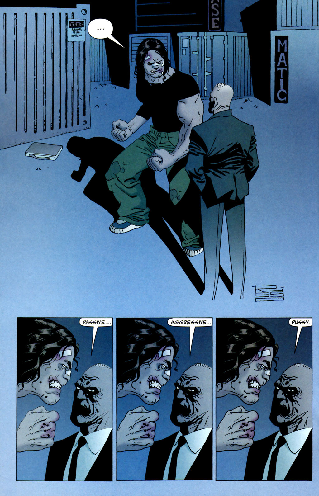 Read online 100 Bullets comic -  Issue #64 - 9