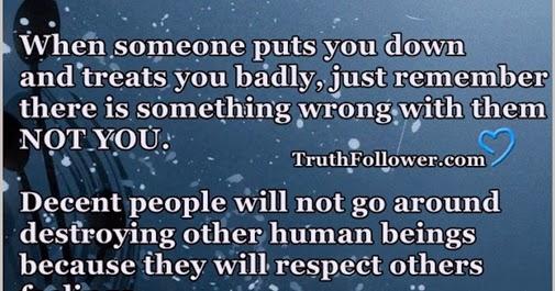 Decent People Don't Destroy Others