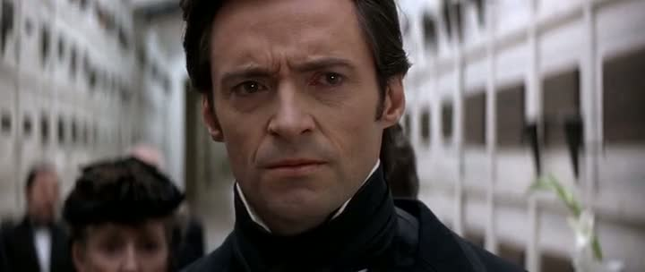 Screen Shot Of The Prestige (2006) Dual Audio Movie 300MB small Size PC Movie