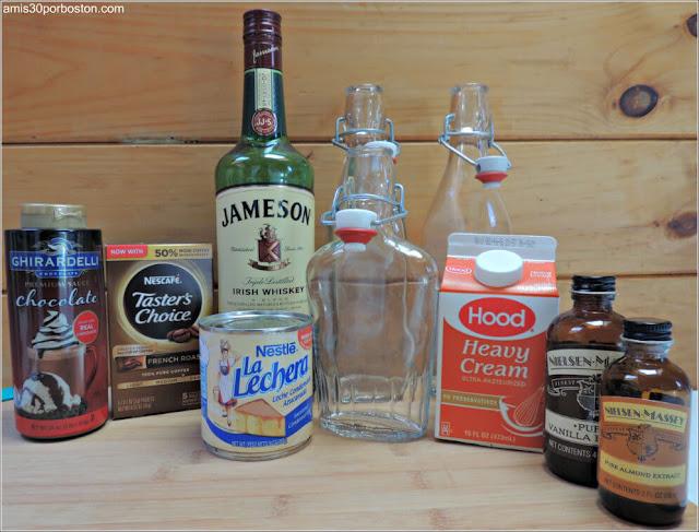 Ingredientes del Baileys Casero