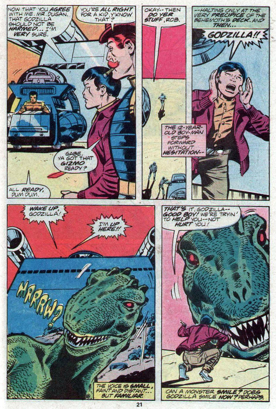 Godzilla (1977) Issue #17 #17 - English 12