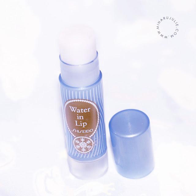 SHISEIDO WATER IN LIP HOKKAIDO LIP BALM review