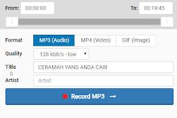 Download Ceramah Kultum MP3 Berbagai Judul