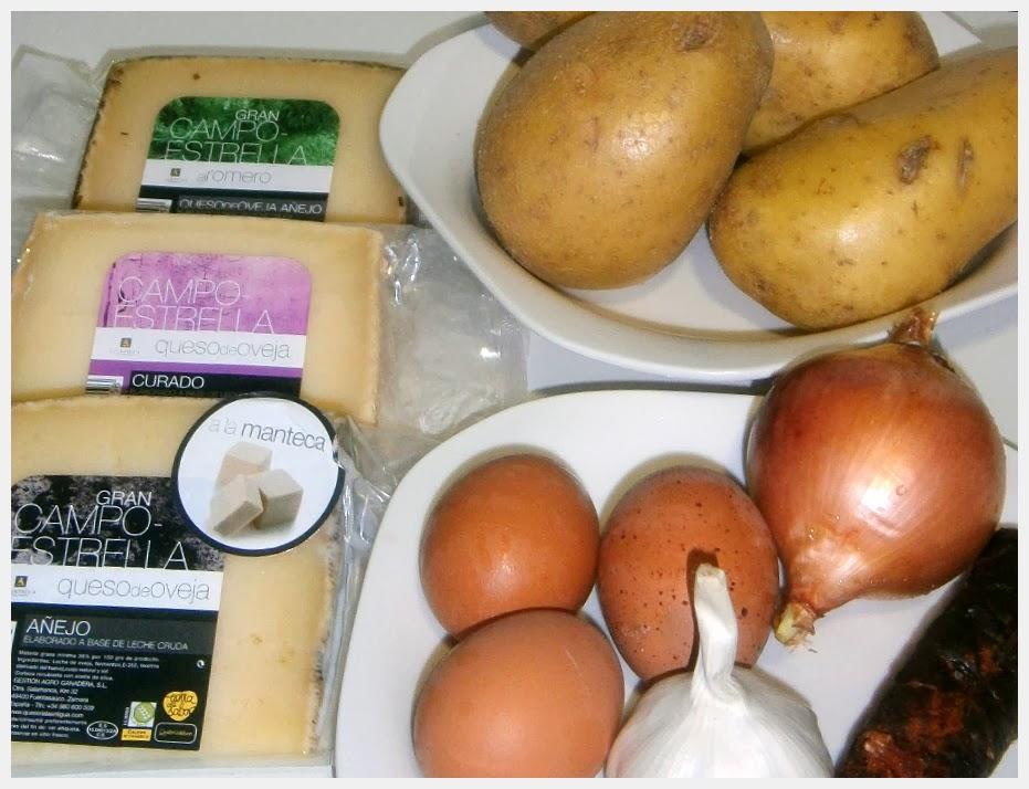 Tortilla de Patata y Queso al Horno